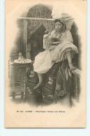 Alger : Mauresque Versant Son Kaoua. Café. Dos Simple. 2 Scans. Collection Idéale PS - Women