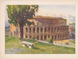 Italia--Roma--Teatro Marcello---Edicione D'Arte  Astro - Autres Illustrateurs