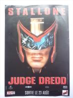 DOSSIER DE PRESSE JUDGE DREED -1995 - Sylvester Stallone - Pubblicitari