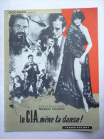 DOSSIER DE PRESSE LA CIA MENE LA DANSE - 1966 - PHILIPPE LEROY-BEAULIEU