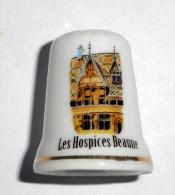 De A Coudre En Porcelaine Hospices  Beaune - Dedales
