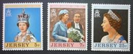 JERSEY 1977: YT 151 - 153 / Mi 157 - 159 / SG 168 - 170 / Sc 168 - 170, ** MNH - FREE SHIPPING ABOVE 10 EURO - Jersey