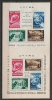 U.P.U. - XI UPU CONGRESS - CYTRA - ARGENTINA 1939 Vertical SOUVENIR SHEET - Yvert # Bloc 2  - * MINT (H) - Blocks & Kleinbögen