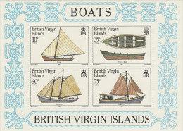 Virgin Islands-1984 Boats Souvenir Sheet MNH - British Virgin Islands