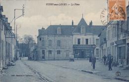 VITRY-aux-LOGES (Loiret) : La Place - Andere Gemeenten
