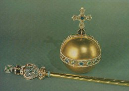 Sovereign`s Orb And Head Of The Sovereign`s Sceptre With The Cross    # 01578 - Articles Of Virtu