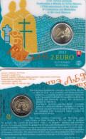 SLOWAKIJE - 2 € COM. 2013 BU - CONSTANTIJN EN METHODIUS - Slovaquie
