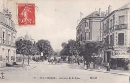 11 - CORMEILLES : Avenue De La Gare  -  E.L.D. - Cormeilles En Parisis