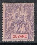 GUYANE N°48 NSG - Guyane Française (1886-1949)
