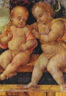 Perugia -Jesus And St. John   Basilica Di San Pietro.      # 01594 - Jesus