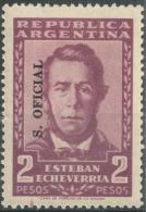 Argentina 1957  Official   2 Pesos  - Scott O109  MH - Servizio