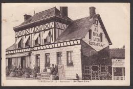 """76. Forges Les Eaux - Restaurant """" Au Beau Lieu"""" - Etat Correct - Forges Les Eaux"""