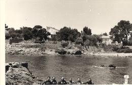 PHOTO   8,5 X 13 Cm PLONGEURS DE LA G.E.S.M. ST-RAPHAEL 83-LE LOT DE 6- Années 60 - Anonieme Personen