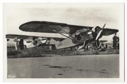 """ISTRES-AVIATION (Bouches Du Rhône) - """"Potez 58""""- Avion De Tourisme - Moteur Potez Q Ab - Combier Macon - 1919-1938: Entre Guerres"""
