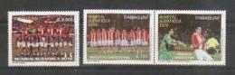 Paraguay 2010 YT3039-40 ** Copa Mundial De Fútbol En Sudáfrica. Selección Paraguaya, Justo Villar Y Oscar Cardozo - Paraguay