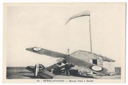"""ISTRES-AVIATION (Bouches Du Rhône) - Avion Accidenté - """"Morane"""" Brisé à Barbat - Combier Macon N°413 - 1919-1938: Entre Guerres"""