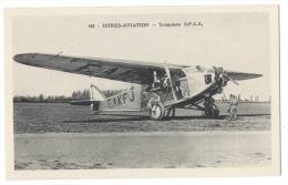ISTRES-AVIATION (Bouches Du Rhône) - Avion Trimoteur S.P.C.A - Combier Macon N°440 - 1919-1938: Entre Guerres