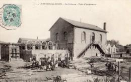 LAVAVEIX-LES-MINES LA COLONNE PUITS D EPUISEMENT - France