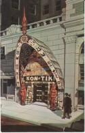 Portland OR Oregon, Kon-Tiki Restaurant, Lloyd Center, C1950s Vintage Postcard - Portland