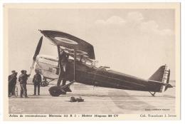 """ISTRES-AVIATION (Bouches Du Rhône) - """"Mureaux 113 R 2"""" - Avion De Reconnaissance- Moteur Hispano 360 CV - Combier Macon - 1919-1938: Fra Le Due Guerre"""