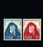 IRELAND/EIRE - 1958  MOTHER MARY AIKENHEAD  SET  MINT NH - 1949-... Repubblica D'Irlanda