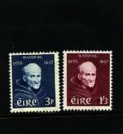 IRELAND/EIRE - 1957  FATHER  WADDING  SET  MINT NH - 1949-... Repubblica D'Irlanda