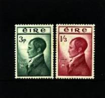 IRELAND/EIRE - 1953  ROBERT EMMET  SET  MINT NH - 1949-... Repubblica D'Irlanda