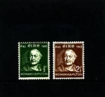IRELAND/EIRE - 1943  DISCOVERY OF QUATERNIONS  SET  MINT NH - 1937-1949 Éire