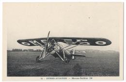"""ISTRES-AVIATION (Bouches Du Rhône)-  Avion """"Morane-Saulnier 230"""" - Phot. Combier, Mâcon N°53 - 1919-1938: Entre Guerres"""