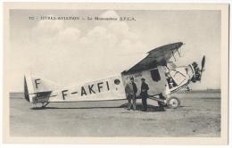 """ISTRES-AVIATION (Bouches Du Rhône)-  Avion """"Monomoteur S.P.C.A"""" - Phot. Combier, Mâcon N°417 - 1919-1938: Entre Guerres"""