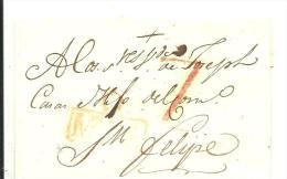 ENVUELTA MARCA MURCIA - ...-1850 Prephilately