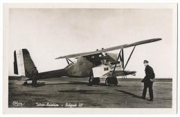 """ISTRES-AVIATION (Bouches Du Rhône)- """"Breguet 411""""- Avion De Bombardement Et De Reconnaissance- Combier, Mâcon N°158 - 1919-1938: Entre Guerres"""