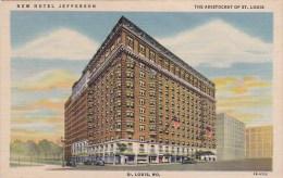 New Hotel Jefferson The Aristocrat Of Saint Louis Missouri