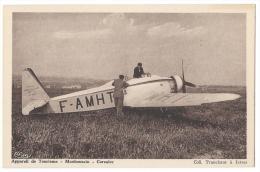 """ISTRES-AVIATION (Bouches Du Rhône)- Avion De Tourisme """"Mauboussin-Corsaire"""" - Combier, Mâcon - 1919-1938: Entre Guerres"""