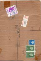 1971 Uk Gb Registered Letter To Italy Strike Mail And Franked In Holland Niederland - Briefmarken