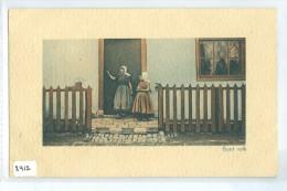 KLEDERDRACHT ZEELAND * GOED VOLK * ANSICHTKAART * CPA * GELOPEN IN 1910 Van MIDDELBURG Naar H. I. AMBACHT  (2412) - Middelburg