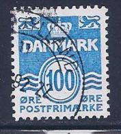 Denmark, Scott # 691 Used Numeral, 1983 - Denmark