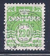Denmark, Scott # 694 Used Numeral, 1984 - Denmark