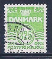 Denmark, Scott # 885-6 Used Numerals,1990,92 - Denmark