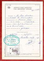 Formular, EF Eisenbahnpaketmarke, Gestempelt Namur 1972 (40834) - Belgien