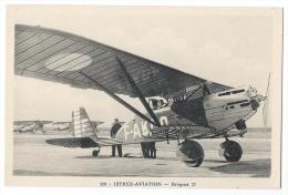 """ISTRES-AVIATION (Bouches Du Rhône)- Avion De Reconnaissance Et De Bombardement  """"Breguet 27"""" -Phot. Combier, Mâcon N°329 - 1919-1938: Entre Guerres"""
