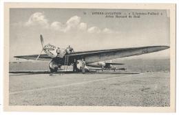 """ISTRES-AVIATION (Bouches Du Rhône)- Avion """"Bernard"""" De Raid """"L'Antoine Paillard"""" - Phot. Combier, Mâcon N°13 - 1919-1938: Entre Guerres"""