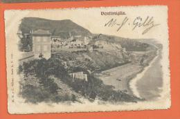 H691, Ventimiglia,1051, Précurseur, Circulée 1904 - Italia