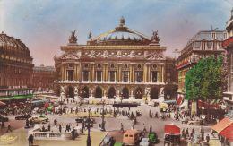 Cp , 75 , PARIS , Place De L'Opéra - Squares
