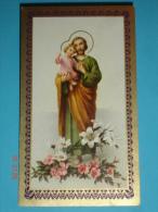 N° 9 - Serie Bella - FB - S.GIUSEPPE - Santino F.lli Bonella - Images Religieuses
