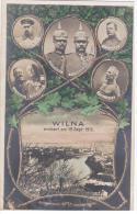 Lithuania Lietuva Wilna Wilno Vilna Vilno Vilnius 1915 Germany - Lithuania