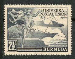 BERMUDA 1949 2 1/2d MH(*) SG 130 -CA - Grande-Bretagne (ex-colonies & Protectorats)