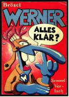 Comics Brösel WERNER Alles Klar?  -  Semmel Verlag 1985 - Werner