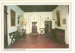 Sanluri (CA) - Interno Del Castello (foto 1990) - Italia