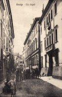 [DC8376] ROVIGO - VIA AGNELLI - Old Postcard - Rovigo